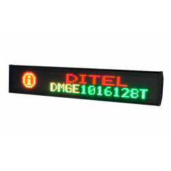Display DOT MATRIX TRICOLOR OUTDOOR Serie DMGE